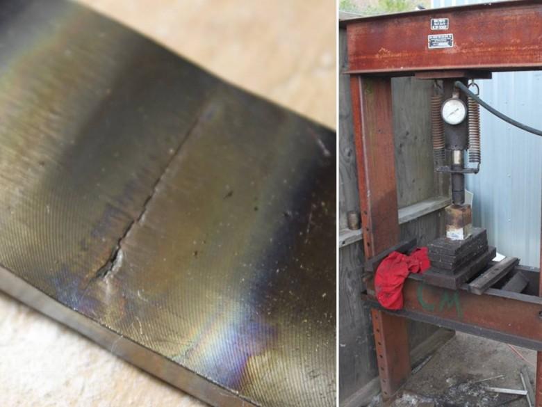 14 - Chainplate Cracked