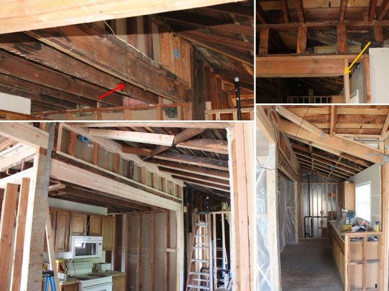 Replacing Improper Kitchen Beams