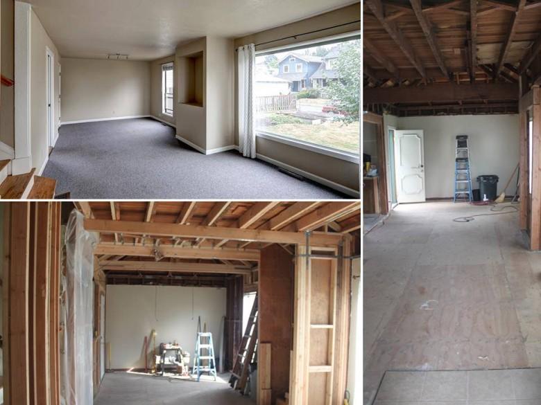 Reframing Living Room 2-bedroom