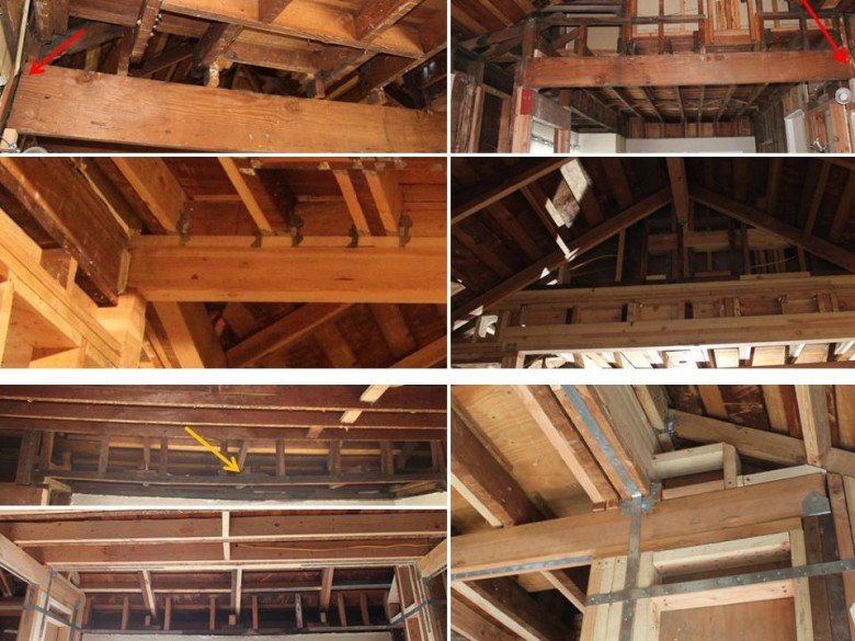 Replacing Improper Living Room Beams
