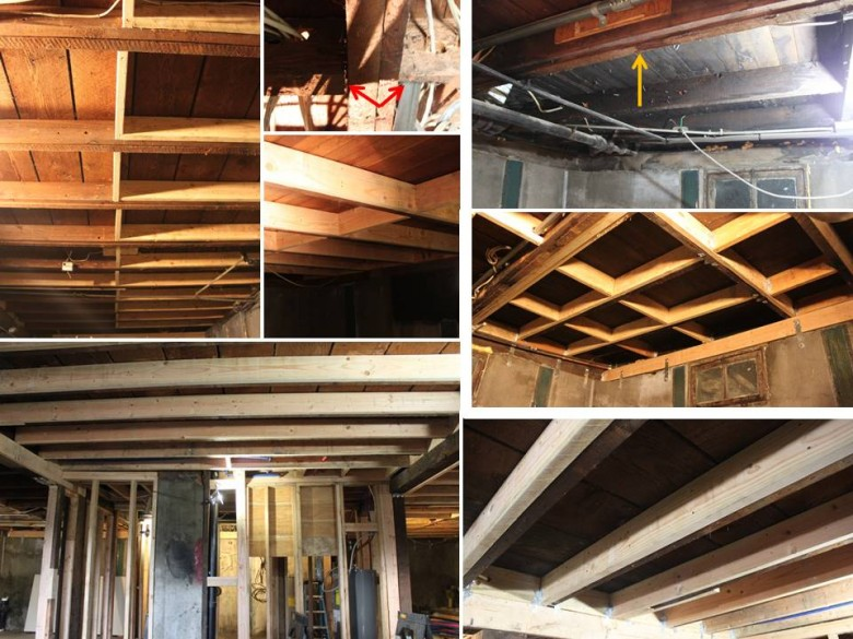 Basement Joists - Bad and Fixed 2