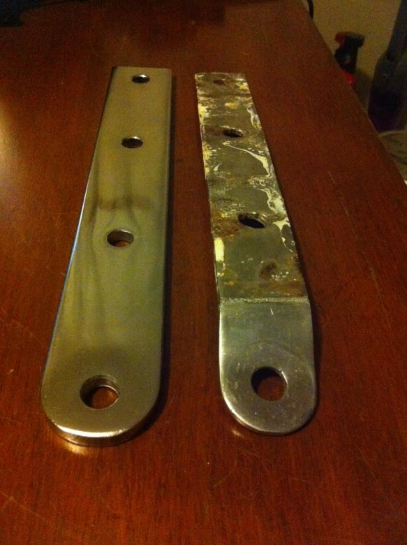 progress - new 316 stainless steel chain plates